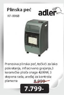 Plinska peć KF-006B