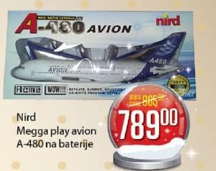 Megga play avion