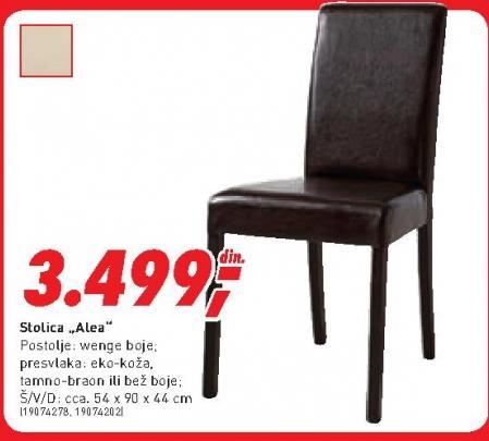 Trpezarijska stolica Alea