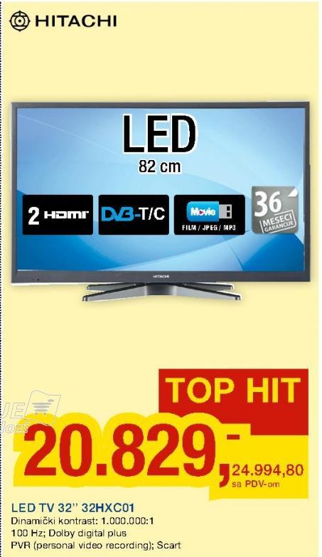 """Televizor LED 32"""" 32HXC01"""