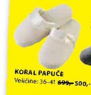 Papuče Koral