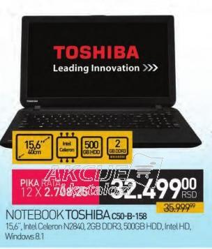 Notebook C50-B158