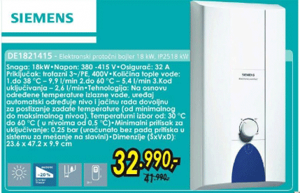 Bojler DE1821415