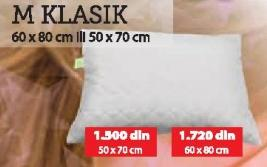Jastuk M Klasik 60x80