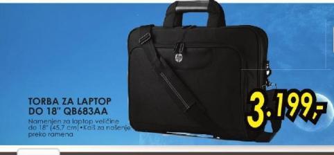 "Torba za laptop Do 18"" QB683AA"