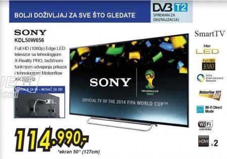 """Televizor LED 50"""" Kdl50w656"""