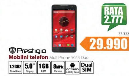 Mobilni telefon MultiPhone 5044Duo
