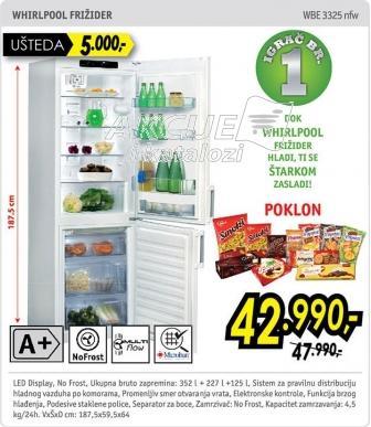 Kombinovani frižider Wbe 3325 nfw