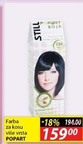 Farba za kosu Popart