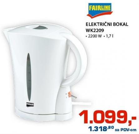 Električni Bokal Wk2209