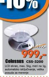 Kuhinjska vaga CSS-3200