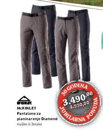 Pantalone muške McKinley