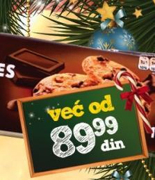 Keks Choco cookies