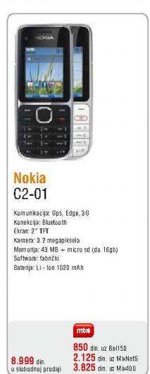 Telefon mobilni C2-01