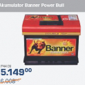 Akumulator Banner Power Bull 58ah