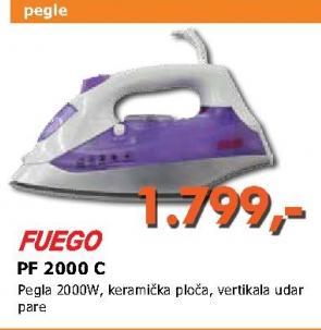 PF 2000 C pegla na paru