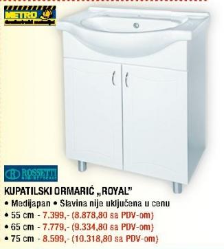 """Kupatilski ormarić """"Royal"""""""