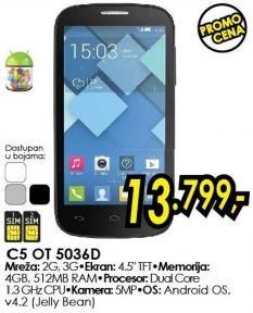 Mobilni telefon Onetouch C5 5036d