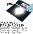 Vaga BG21 STAKLENA