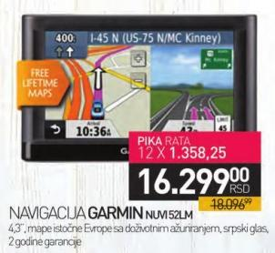 Navigacija Nuvi52lm