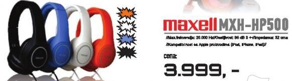 Slušalice MXH-HP500