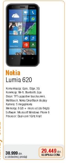 Mobilni telefon Lumia 620