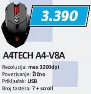 Miš A4-V8a A4Tech