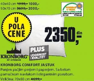 Jastuk Comfort 40x40