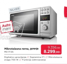Mikrotalasna Rerna Mo 17 Ds