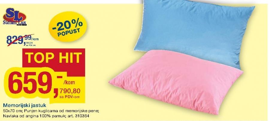 Memorijski jastuk Stefani Lux