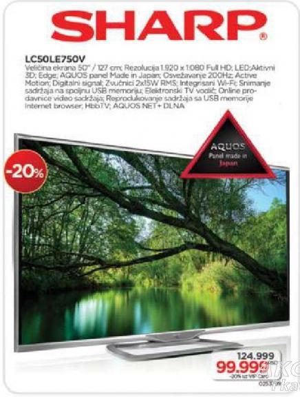 LED LC50LE750V