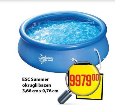 ESC sumer okrugli bazen