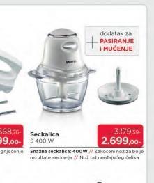 Seckalica S400W