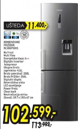 Kombinovani frižider RL58GPGIH1