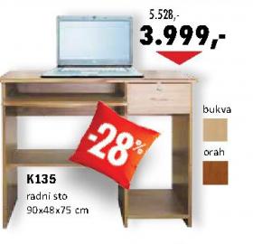 Radni sto K135