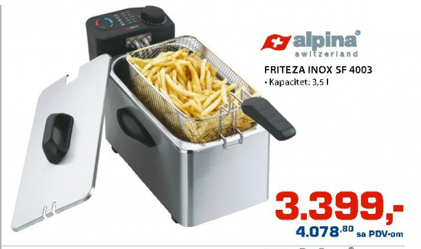Friteza Inoks SF-4003