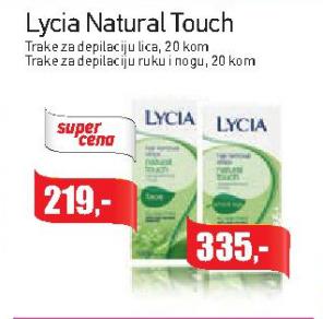 Natural Touch trake za depilaciju lica