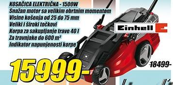 Kosačica električna 1500W