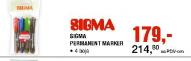 Sigma permanent marker