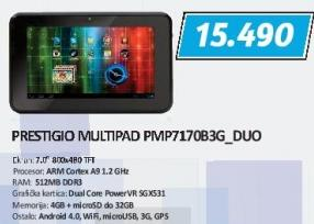 Tablet MultiPad Pmp7170b3G_Duo