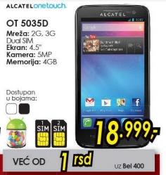 Mobilni telefon OT 5035d