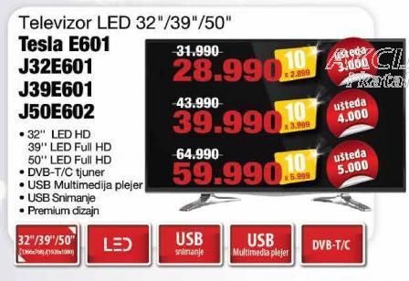 """Televizor LED 39"""" J39e601"""