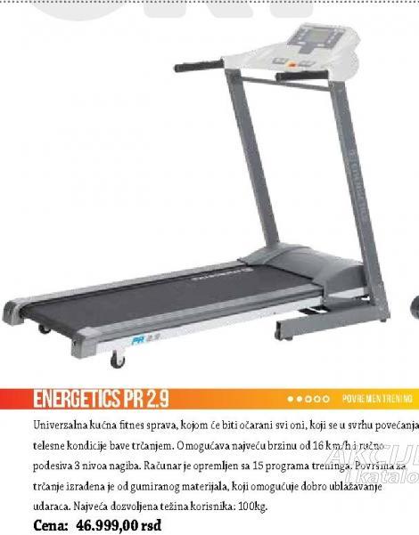 Staza za trčanje Energetics PR2.9