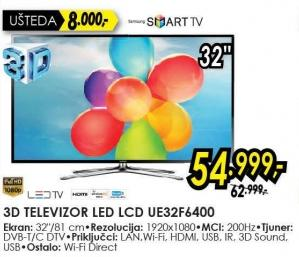 "Televizor LED 32"" Ue32f6400"