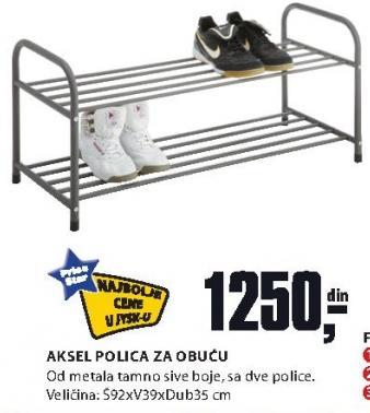 Polica za obuću Aksel