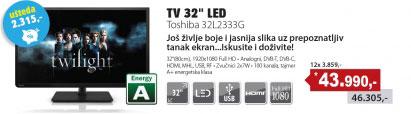 LED televizor 32L2333G