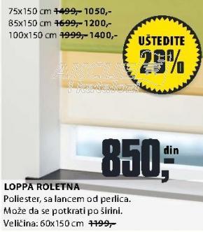 Roletna Loppa