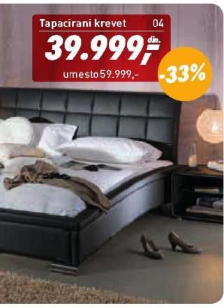 Tapacirani krevet Ettore