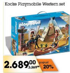 Kocke Playmobile Western set