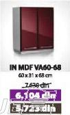 Kuhinjski element IN MDF VA60-68 bordo sjaj